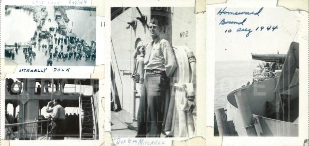 Watermarked Collage of Marines Departure