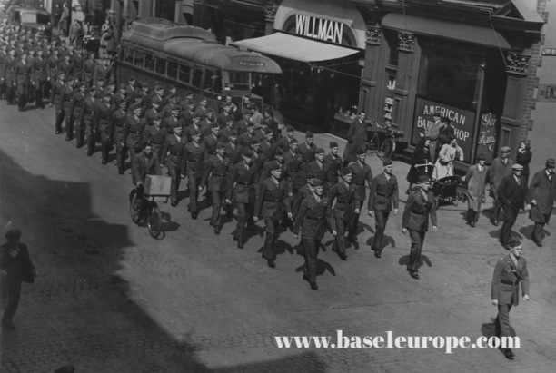 Hudson US Marines Parade 1943
